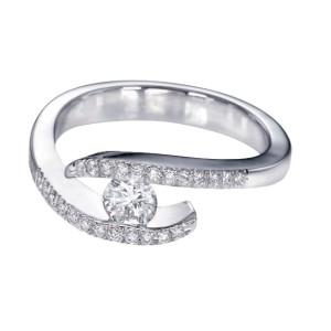 IM405 platinum diamond rings bands 1k unique