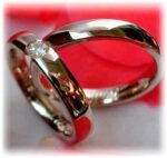 Black Gold Wedding Bands - find more details