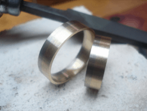 Gold itself - Multicolored wedding rings