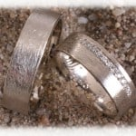 IM255   Diamond Wedding Rings Grey Gold or Platinum 600 950