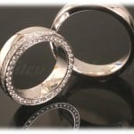Diamond Wedding Rings FT315 White Gold or Platinum, eternity