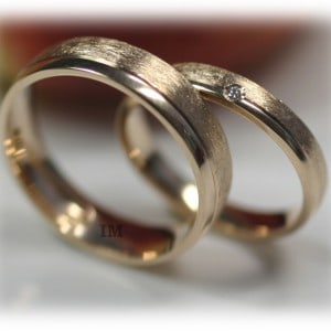 Diamond Wedding Rings FT349 Polished, Yellow Gold 14ct 18ct