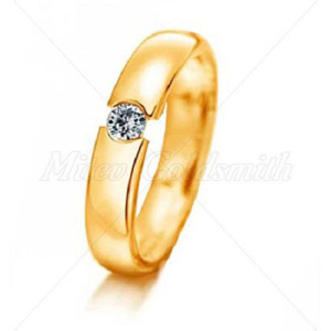 IM625 yellow gold engagement rings online jewelry store