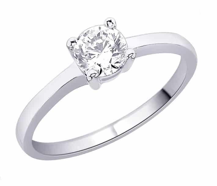 im653 engagement ring platinum or white gold 0 40k