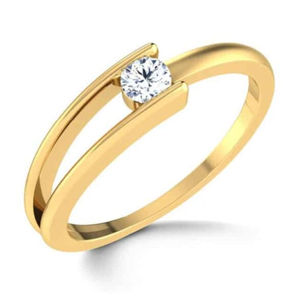 Im656 Yellow Gold Engagement Ring Single Oval Diamond Online Shop For Wedding Rings