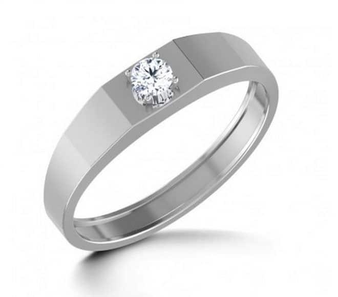 IM659 Vintage Single Diamond Ring for Engagement 0,16ct. - Online ...
