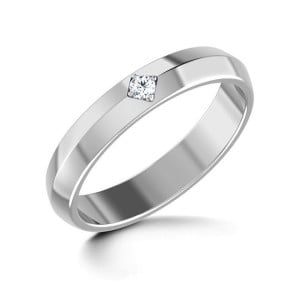 IM660 engagement rings diamond 14k white gold