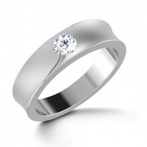 IM664 platinum engagement rings jewelry single diamond