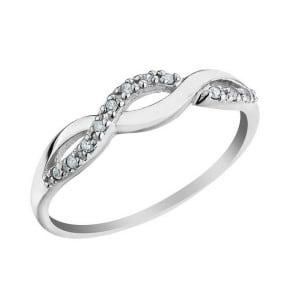 IM669 promise rings for women engagement platinum unique