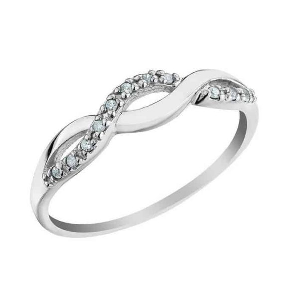 Women Wedding Rings.Im669 Promise Ring For Women Engagement Unique 0 20ct