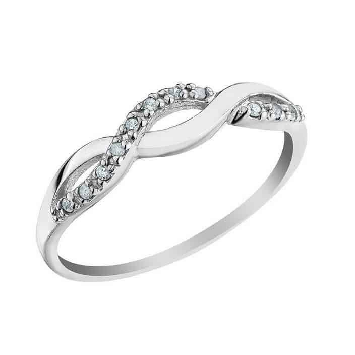 IM669 Promise Ring For Women Engagement Unique 0 20ct line Shop for Wed