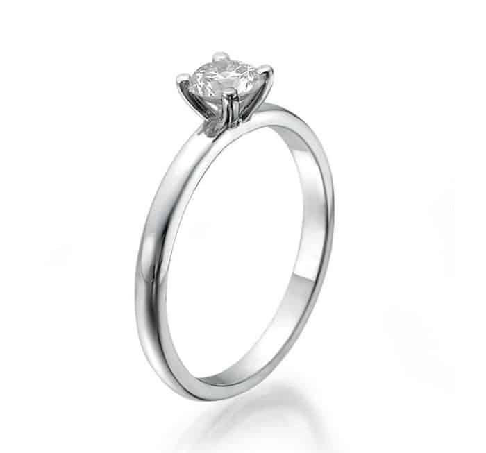 im675 platinum ring engagement jewelry 0 30ct