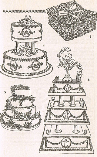 Pay special attention to the wedding cake - ancient tradition and cultures18