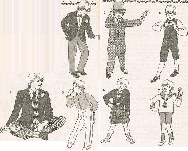 How to find appropriate pageboys outfits - ideas for wedding8