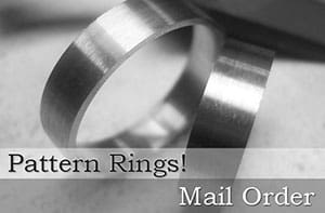 Pattern Wedding Rings Order