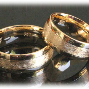 Bridal-Wedding-Ring-Sets-FT371-of-Gold