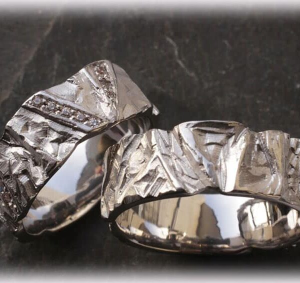 Custom Wedding Rings.Custom Wedding Rings Ft113 Of White Gold With 0 20ct Diamonds
