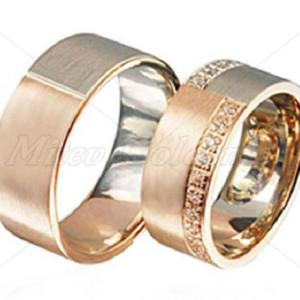 Custom-Wedding-Rings-FT301-bi-metal