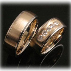 Custom-Wedding-Rings-FT379-two-tone-gold