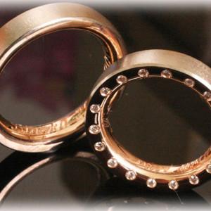 Gold-Wedding-Rings-FT393-bi-metal-0,50ct