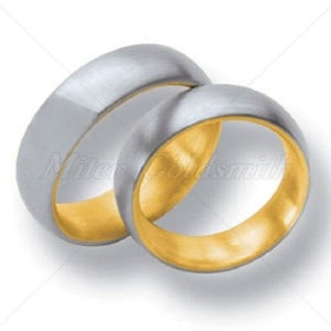 Matching-Wedding-Bands-FT202-two-tone