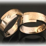 Matching-Wedding-Bands-FT353-Two-Tone-Gold