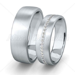 Platinum-Wedding-Ring-Sets-FT303-Infinity