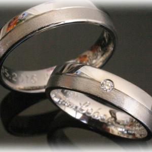 Platinum-Wedding-Ring-Sets-FT383-Polished