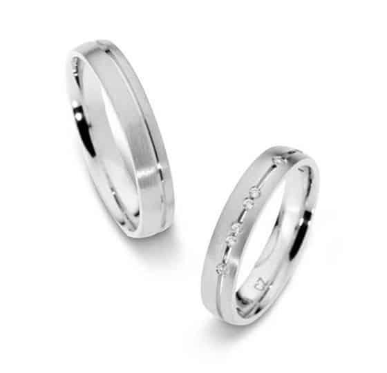 Platinum Wedding Rings.Platinum Wedding Rings Ft506 Matted With 6 Diamonds