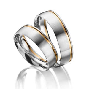 Two-Tone-Wedding-Bands-FT226-White-and-Yellow-Gold