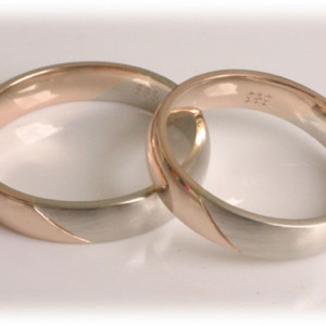 Two-Tone-Wedding-Rings-FT372-Rose-Gold