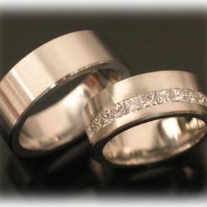 Wedding-Band-Sets-FT386-Princess-Diamonds-Ethernity
