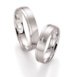 Wedding-Band-Sets-FT514-of-White-Gold