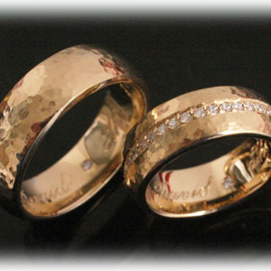 Yellow-Gold-Wedding-Bands-FT391-with-Diamonds