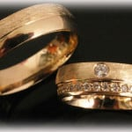 Yellow-Gold-Wedding-Bands-FT395-with-Diamonds